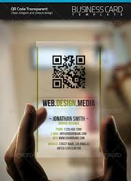 QR CODE AT BUSINESS CARD