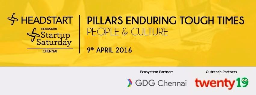 Startup Saturday Chennai