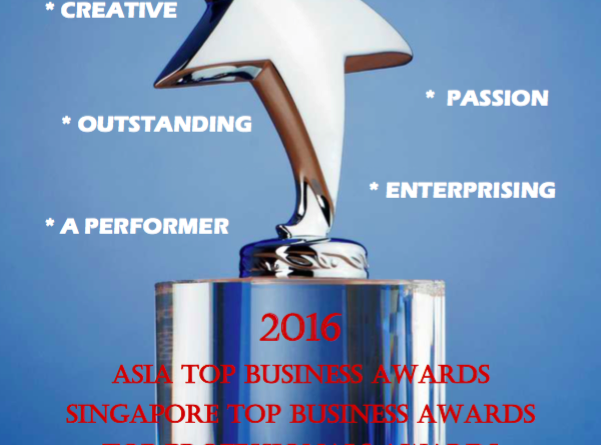 SIA TOP BUSINESS AWARDS 2016