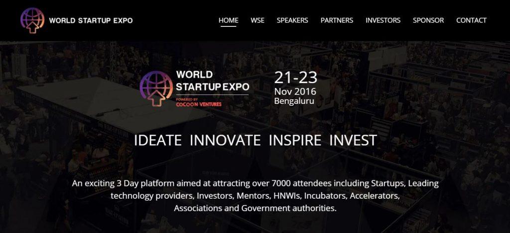 World Startup Expo 2016 (WSE)