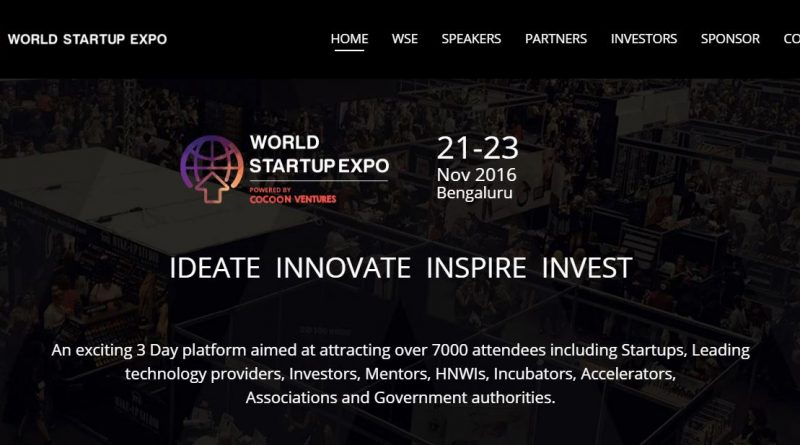 World Startup Expo 2016 (WSE)