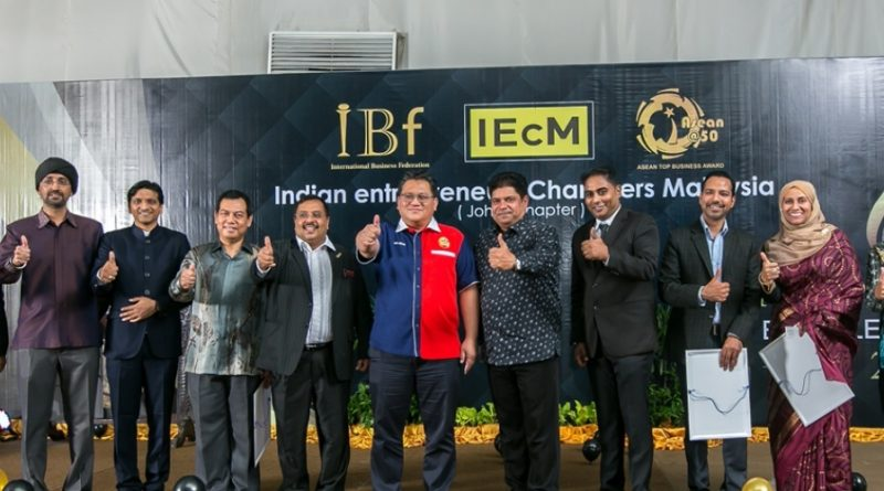 Indian Entrepreneurs Chamber of Malaysia (IEcM) award